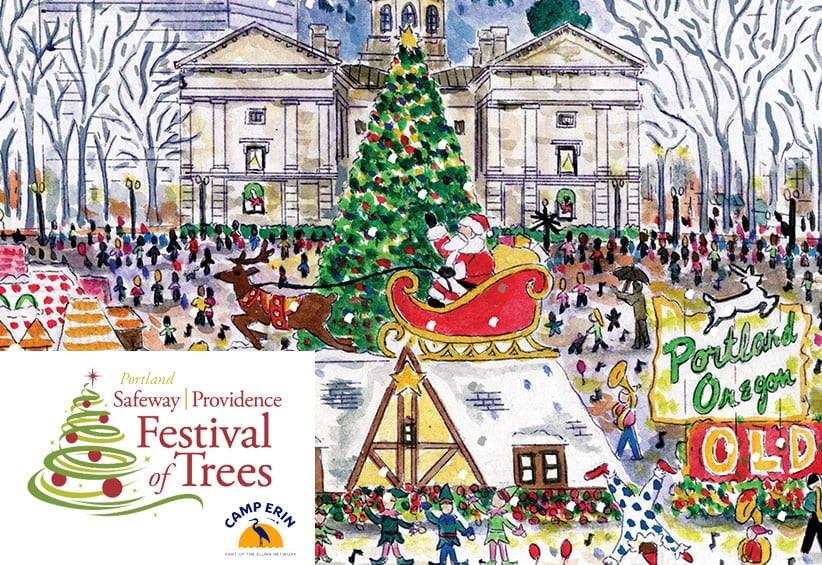 Giving Back: Providence Festival of Trees and Camp Erin