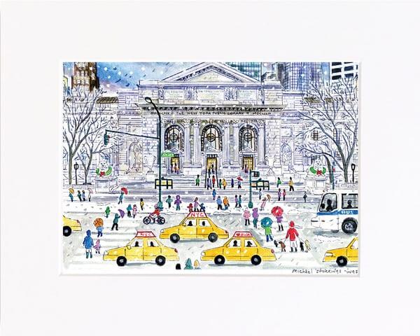 New York Public Library Print