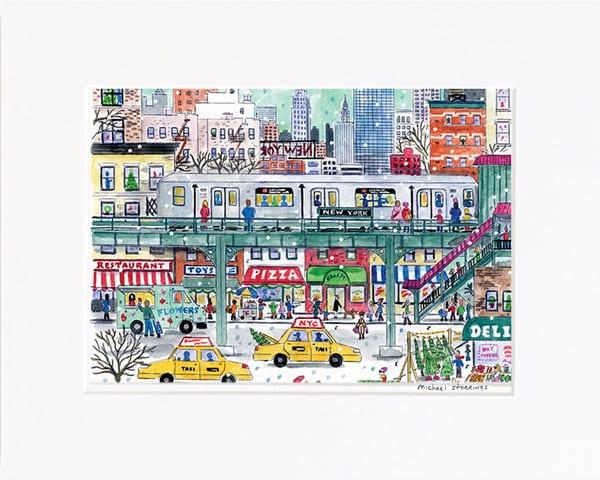 Subway Print